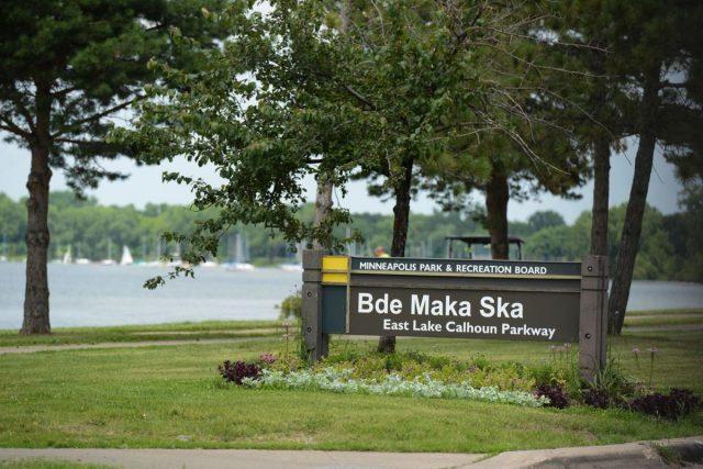 Bde Maka Ska Lake in Northern Minnesota