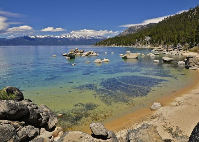 Beaches in Lake Tahoe