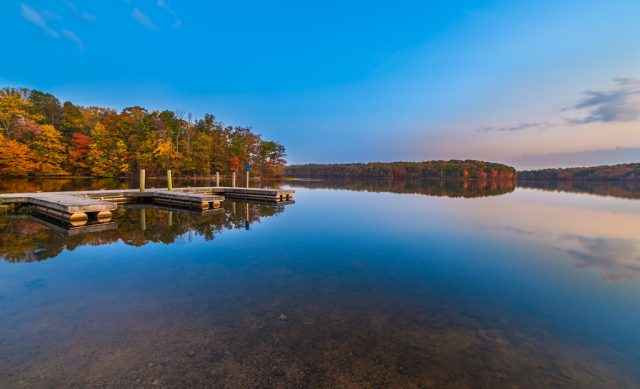Burke Lake in Virginia