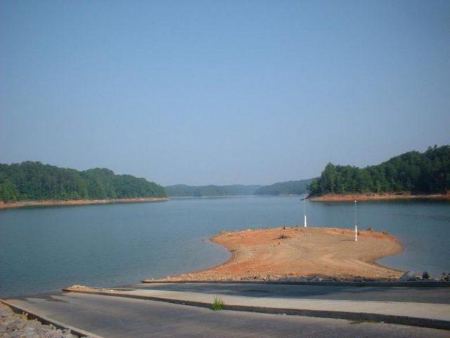 Carters Lake in North Georgia