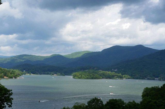 Chatuge Lake in North Georgia