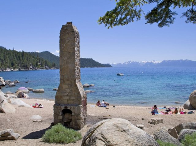 Chimney Beach in South Lake Tahoe