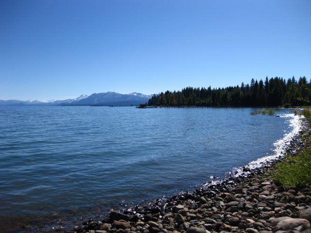 Commons Beach in Lake Tahoe