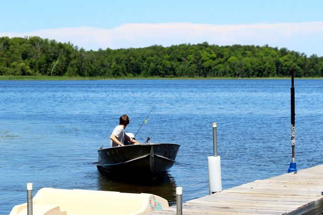Gull Lake in Northern Minnesota