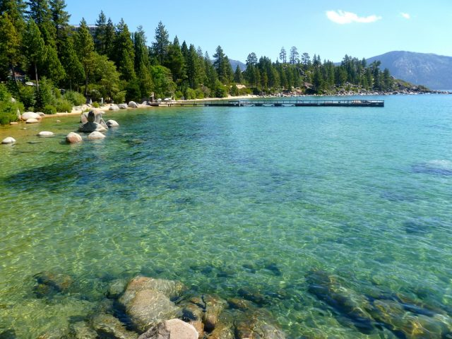 Hidden Beach in Lake Tahoe