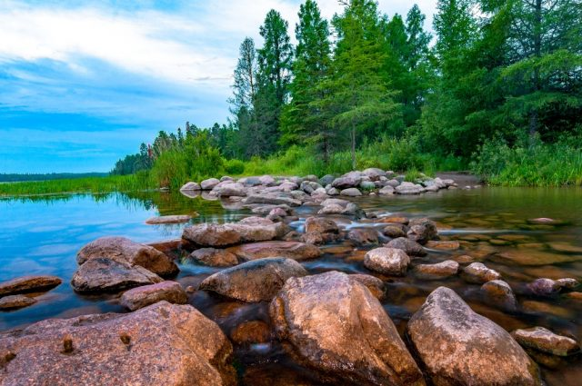 Isles Lake in Northern Minnesota