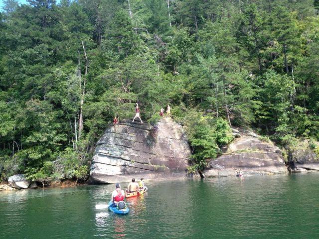 Keowee Lake in South Carolina