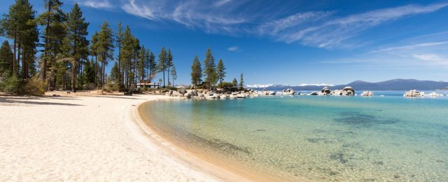 Kings Beach in North Lake Tahoe