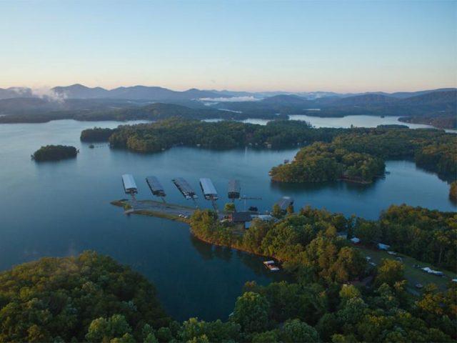 Lake Blue Ridge in North Georgia