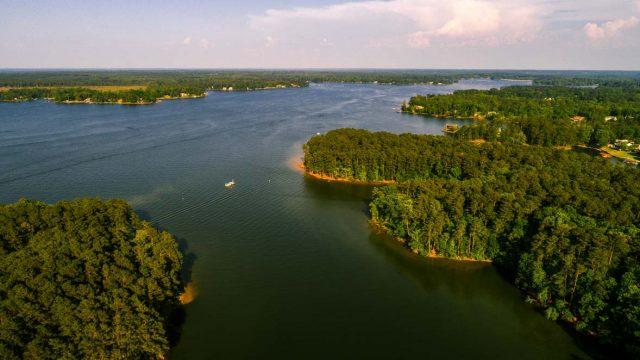 Lake Greenwood in South Carolina