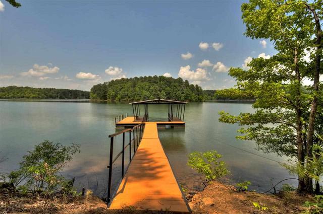Lake Hartwell in North Georgia