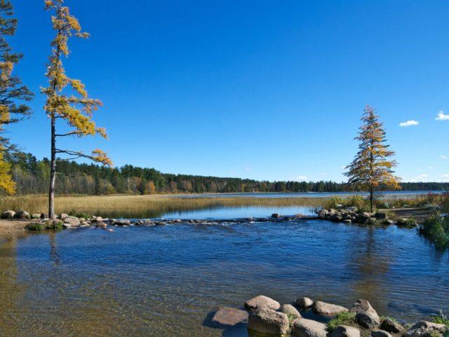 Lake Itasca in Northern Minnesota