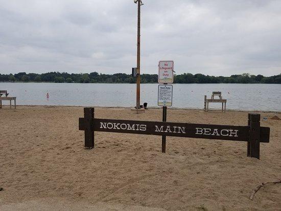 Lake Nokomis in Northern Minnesota
