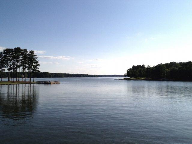 Lake Oconee in Central Georgia