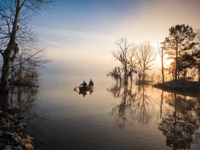 Lake Seminole in South Georgia