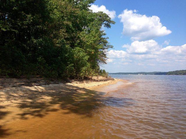 Lake Wateree in South Carolina