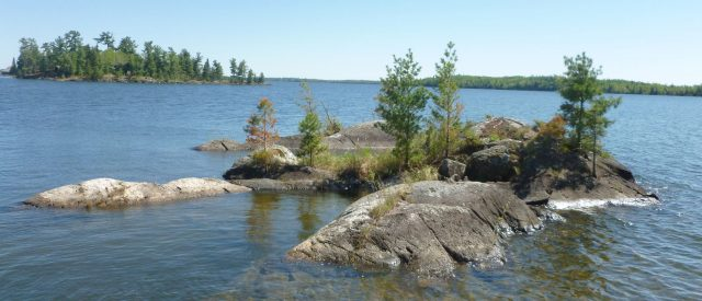 Lake of the Woods in Northern Minnesota