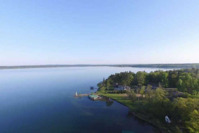 Leech Lake in Northern Minnesota