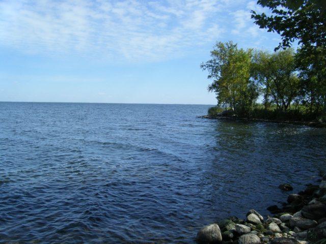 Mille Lacs Lake in Eastern Minnesota