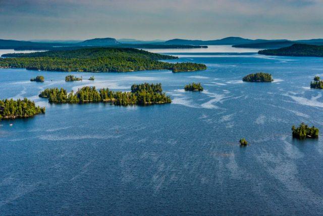 Moosehead Lake in Northern Maine