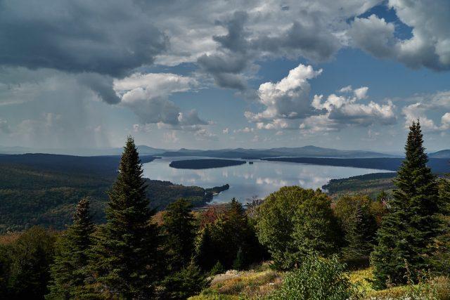 Mooselookmeguntic Lake in West-Central Maine