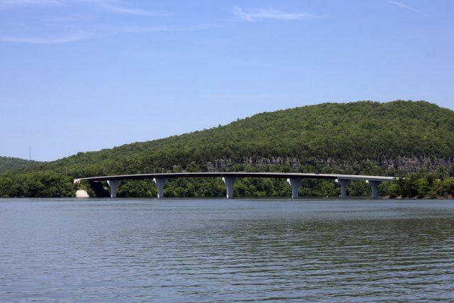 Nickajack Lake in Tennessee