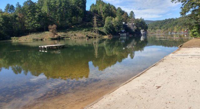 Rabun Lake in North Georgia