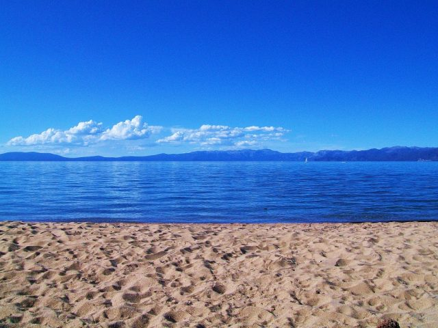 South Lake Tahoe Pope Beach