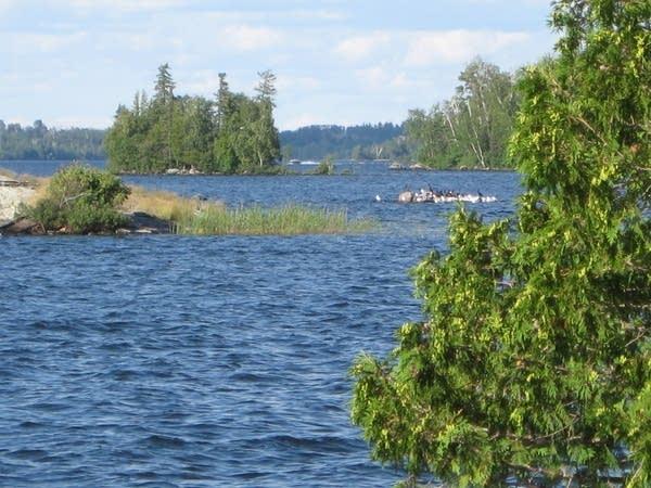 Vermilion Lake in Northern Minnesota