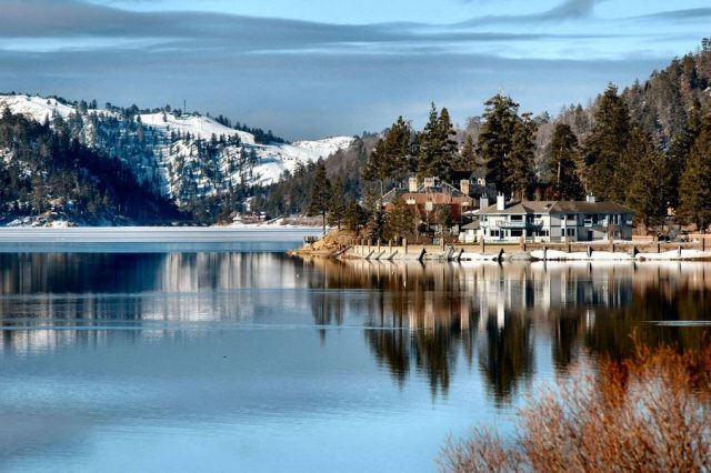 Big Bear Lake in Southern California