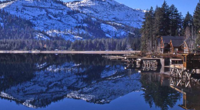 Donner Lake in Northern California