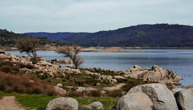 Folsom Lake in Northern California