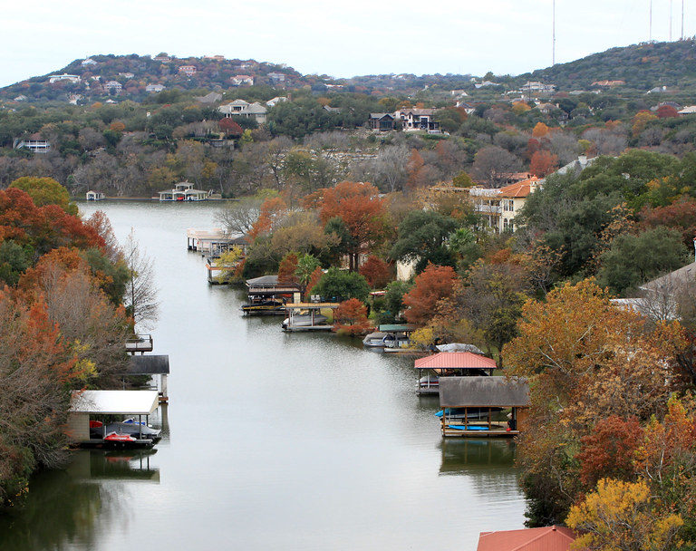 Lake Austin in Central Texas