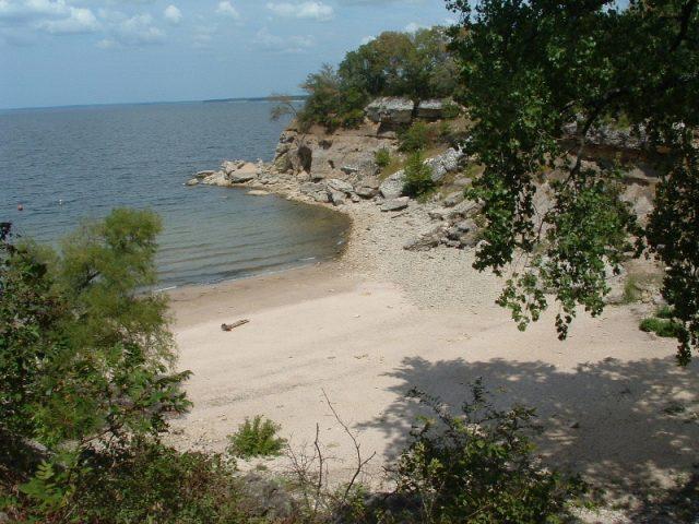 Lake Texoma in North Texas