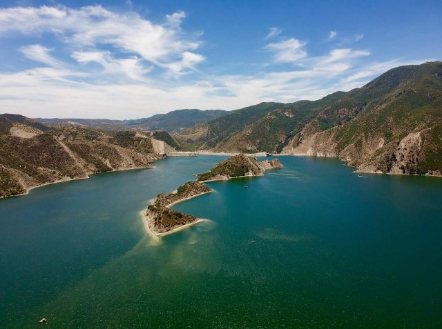 Pyramid Lake in Southern California