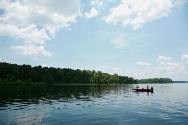 Sam Rayburn Reservoir in East Texas