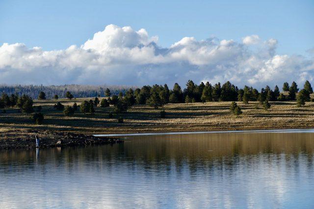 Big Lake in Northern Arizona