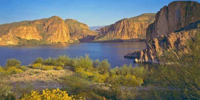 Canyon Lake in Southern Arizona
