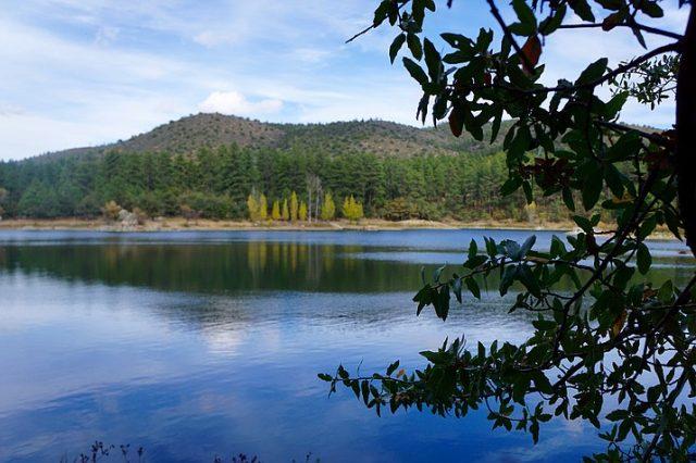 Goldwater Lake in Northern Arizona