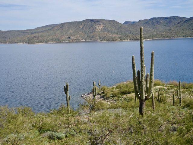 Lake Pleasant in Southern Arizona