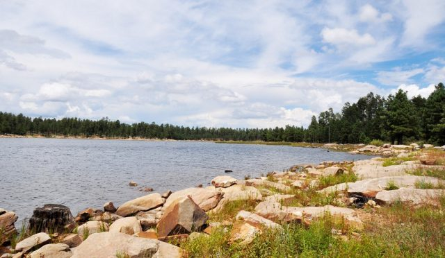Willow Springs Lake in Northern Arizona