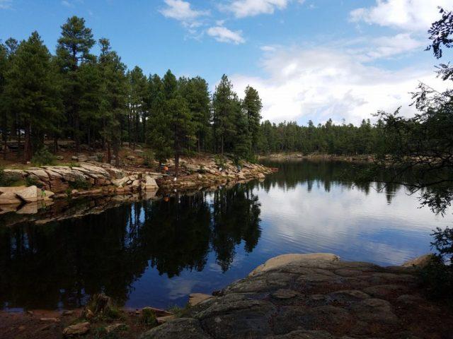 Woods Canyon Lake in Northern Arizona