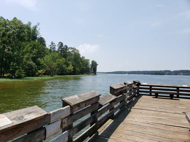 Badin Lake in North Carolina