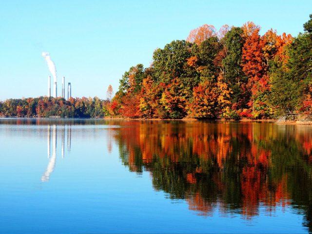 Belews Lake in North Carolina