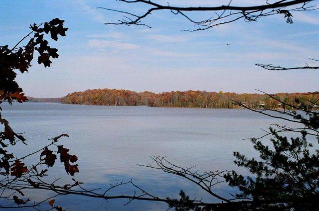 High Rock Lake in North Carolina