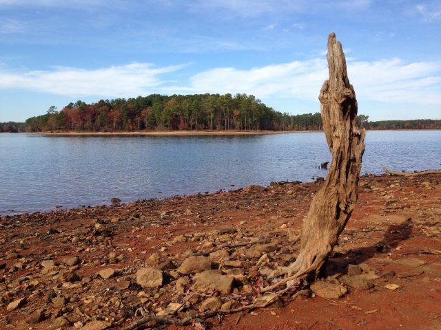 Jordan Lake in North Carolina