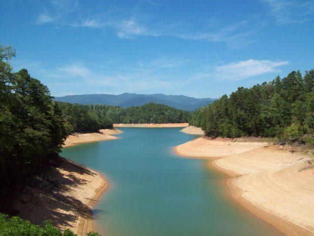 Lake Fontana in North Carolina