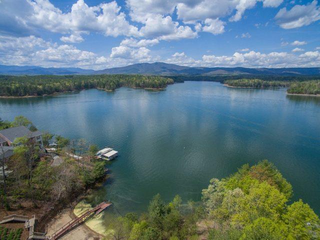 Lake James in North Carolina