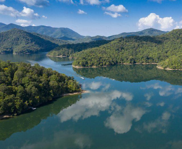 Lake Nantahala in North Carolina
