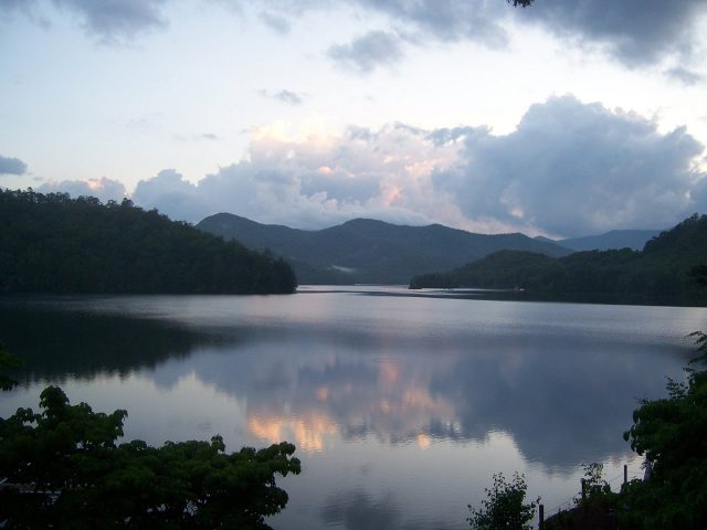 Lake Santeetlah in North Carolina